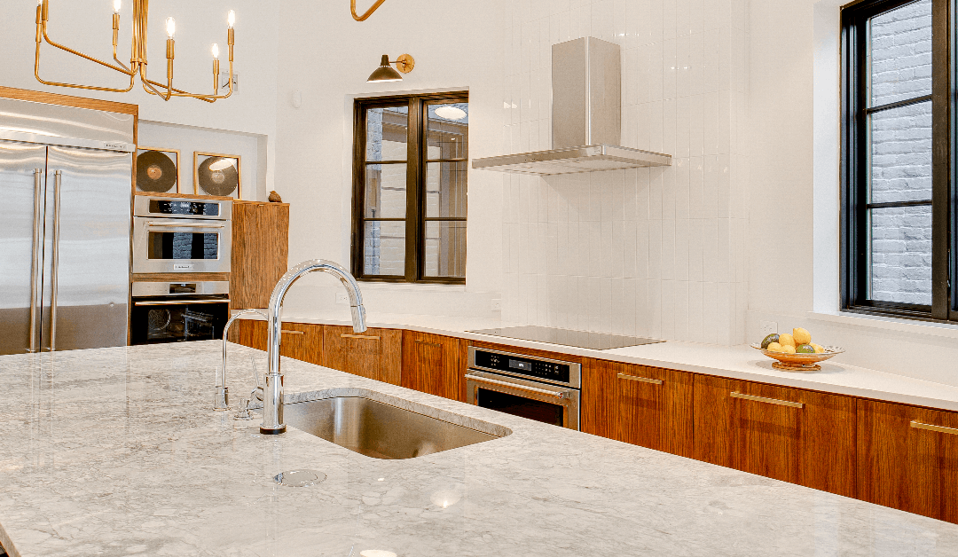 a faux-marble countertop in Tampa
