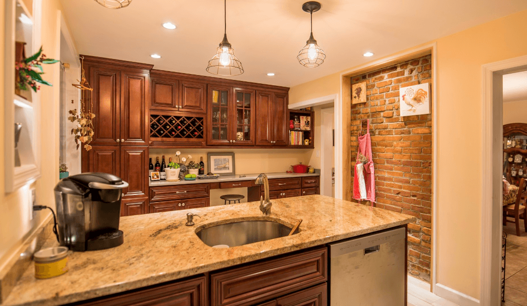 colorful kitchen remodel in Tampa